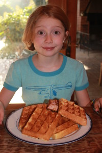 orange & Almond Waffles - A Gemperle Farms Favorite Recipe