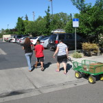 A Helping Hand food donations such as Gemperle Eggs, tortilla, potatoes, fruits and vegetable